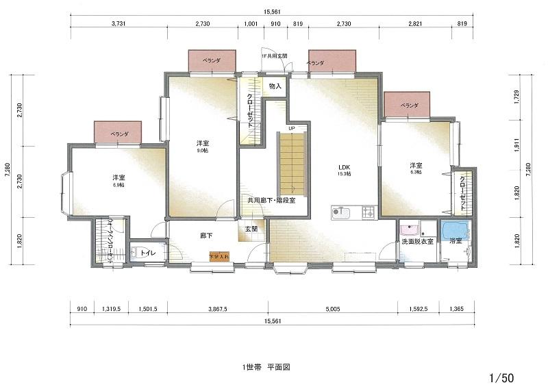 鎌倉レンタハウス リノベーション平面図-1.jpg